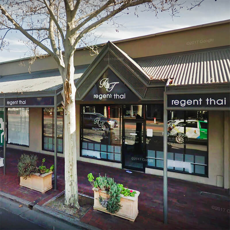 Regent Thai Restaurant North Adelaide 5006